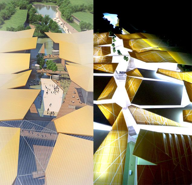 Il progetto di mario cucinella architects per il centro for Cucinella architects
