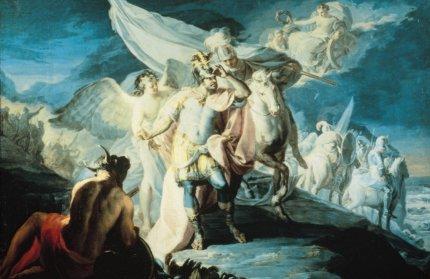 F. Goya - Annibale che scorge le terre italiche per la prima volta - 1771