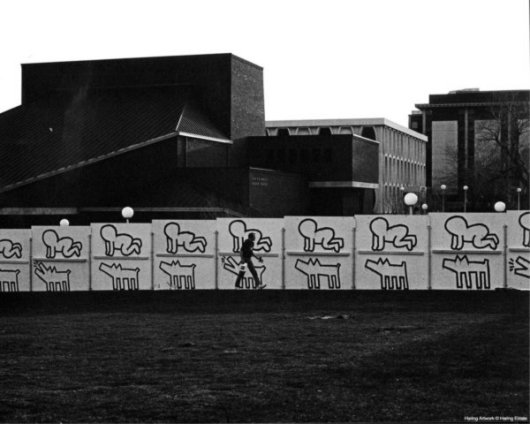 Murale della Marquette University, Milwaukee, Wisconsin, 1983