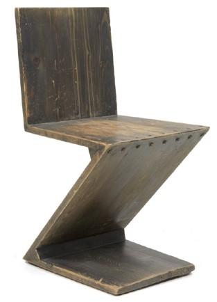 Dorotheum asta di design il carisma della forma for Sedia zig zag cassina prezzo