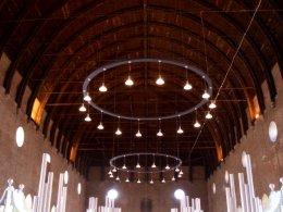 Paolo portoghesi architetto in basilica a vicenza for Lampadari circolari