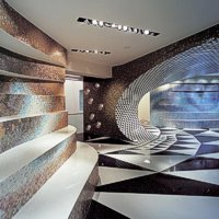 Showroom Bisazza - Berlino 2003; photo Alberto Ferrero