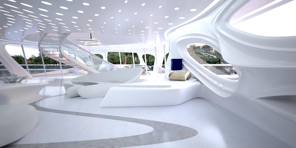 Zaha Hadid Designs Superyacht For Blohm Voss