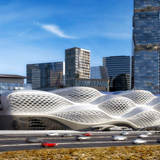 Stazione Metro King Abdullah Financial District, Riyad, Arabia Saudita, 2013 - 2020 © Zaha Hadid Architects