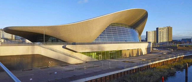 London Aquatics Centre di Zaha Hadid Architects