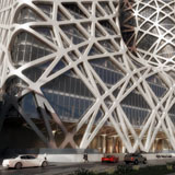 Hotel Morpheus a City of Dreams, Cotai, Macao, Cina 2013 - 2018, Render © Zaha Hadid Architects