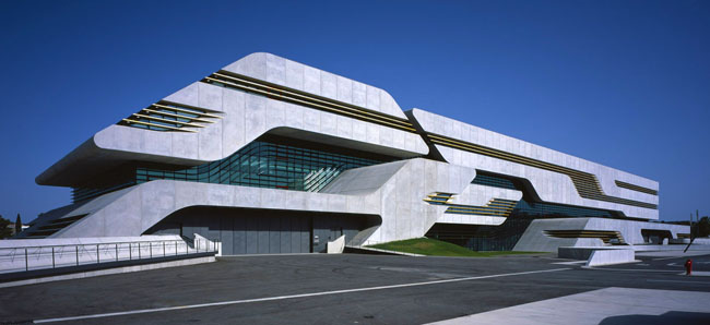 Pierresvives Building di Zaha Hadid Architects