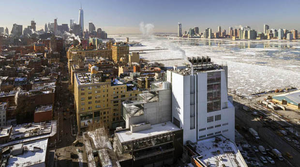 Il Whitney Museum a Gansevoort in New York di Renzo Piano RPBW © Ph. Nic Lehoux