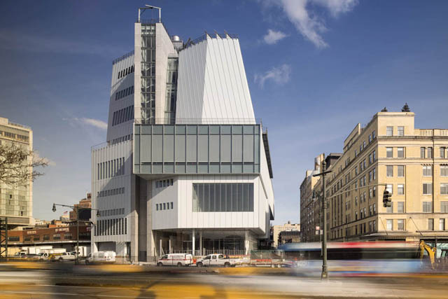 Il Whitney Museum a Gansevoort in New York di Renzo Piano RPBW