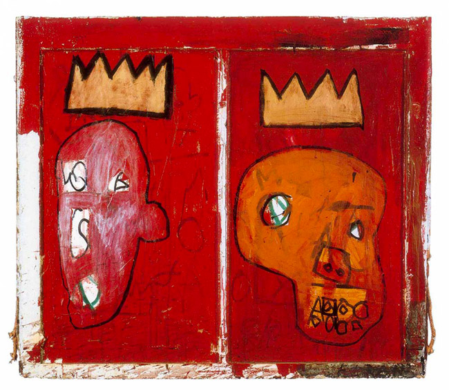 Jean-Michel Basquiat, Red Kings, 1981
