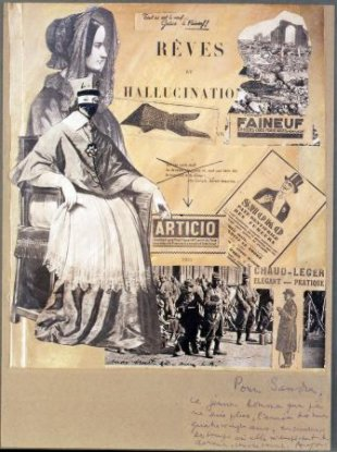 Rêves et hallucinations, collage, 1926