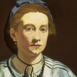 Edouard Manet: Victorine Meurent, 1862 circa, olio su tela, cm 42,9 x 43,8. Boston, Museum of Fine Arts, dono di Richard C. Paine in memoria del padre, Robert Treat Paine II