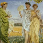 Albert Moore: The loves of the winds and the seasons. Blackburn Museum & Art Gallery