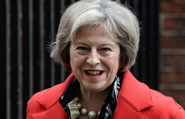 Il premier inglese Theresa May
