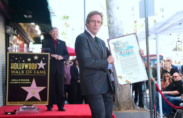 Hollywood: una stella sulla Walk of Fame per Doctor House - Hugh Laurie