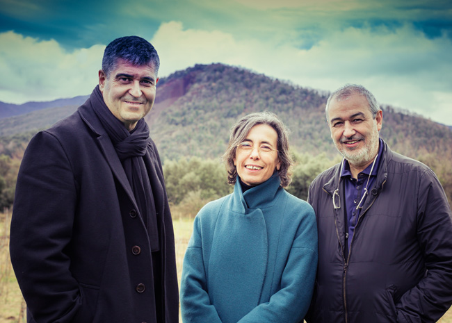 Rafael Aranda, Carme Pigem and Ramon Vilalta <br />&copy; Photo by Javier Lorenzo Dom&iacute;nguez