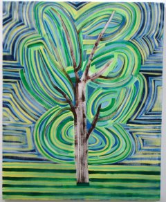 Untitled tree, (blue, yellow, green)