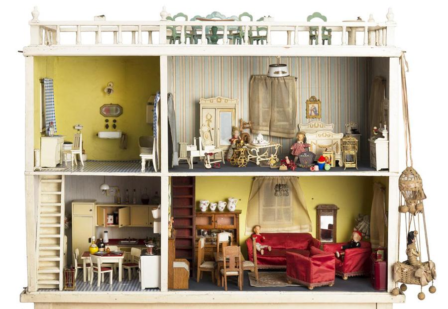 Case di bambola for Case eleganti