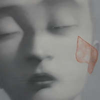 Zhang Xiaogang - Remember and Forget, 2002 - Olio e acrilico su tela, 200x260 cm