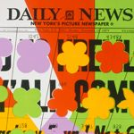 Andy Warhol. Daily News, c. 1967. Screenprint on paper. Sheet: 127.64 x 76.84 cm (50 1/4 x 30 1/4 in.). Mat: 134.62 x 101.6 cm (53 x 40 in.). The Andy Warhol Museum, Pittsburgh; Contribution The Andy Warhol Foundation for the Visual Arts, Inc.<br>� 2011 The Andy Warhol Foundation for the Visual Arts, Inc. / Artists Rights Society (ARS), New York