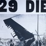 Andy Warhol. 129 Die in Jet, 1962. Acrylic and pencil on canvas. Overall: 254 x 182.9 cm (100 x 72 in.). Museum Ludwig, Cologne<br>� 2011 The Andy Warhol Foundation for the Visual Arts, Inc. / Artists Rights Society (ARS), New York, Rheinisches Bildarchiv K�ln