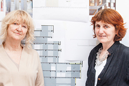 Yvonne Farrell e Shelley McNamara - Grafton Architects